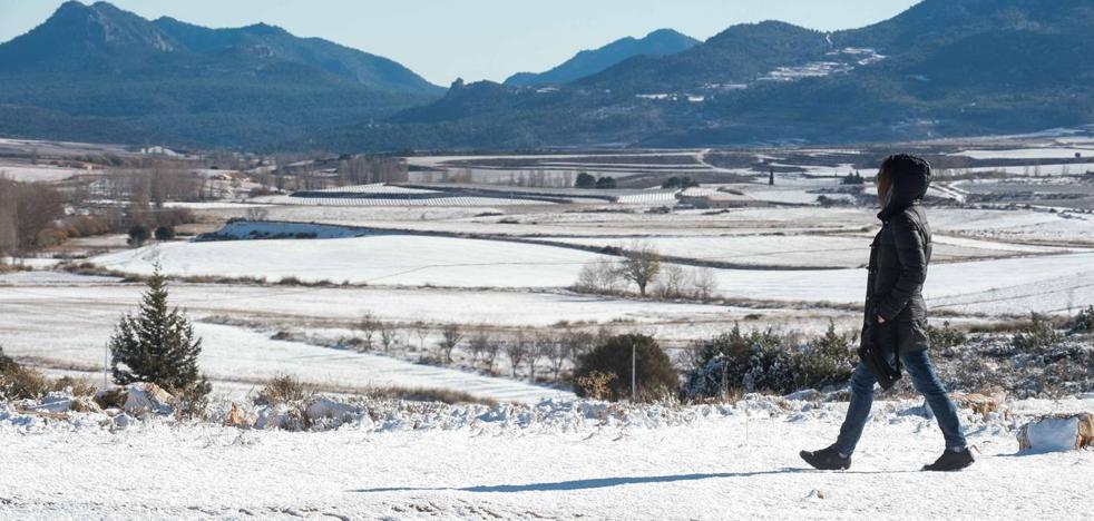Caen las primeras nevadas de la temporada en el Noroeste