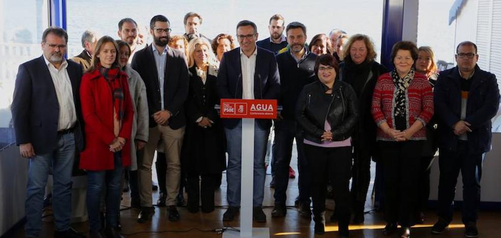 El PSOE apuesta por un Plan Hidrológico Regional para solucionar la falta de agua