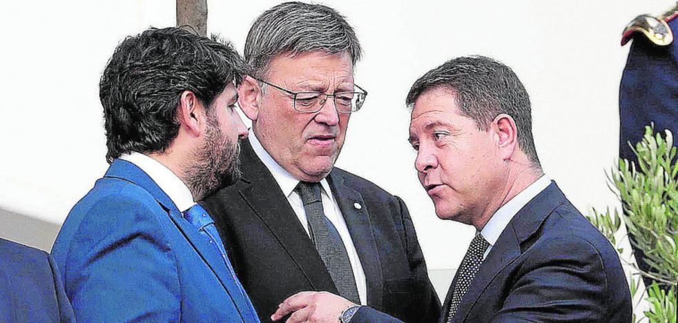 Murcia y Valencia unen sus fuerzas en la pugna por la mejora de la financiación