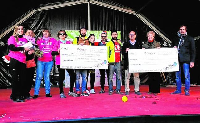 La V Gymkana solidaria ayuda la Asociación de Hiperactividad y Cáritas