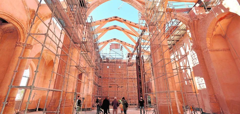 El camarín y parte de la torre de Santa María podrán visitarse tras su restauración