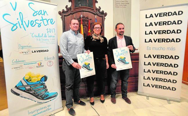 Deporte, diversión y solidaridad en la V San Silvestre