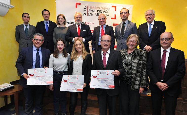 Entrega del Premio Pyme del Año de Murcia