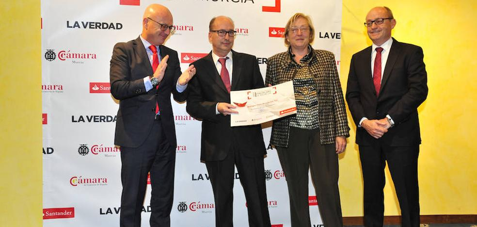 El premio 'Pyme del Año' distingue la trayectoria de Bodegas Juan Gil