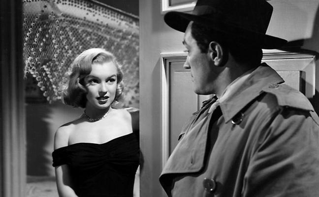 'La jungla de asfalto', con Marilyn Monroe