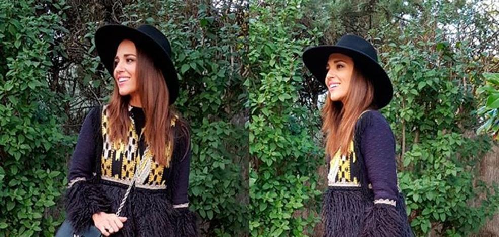 Paula Echevarría pone de moda dos prendas low cost