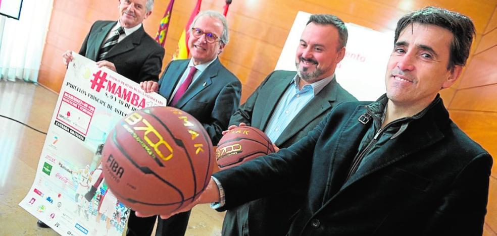 Los veteranos de la canasta se dan cita en Murcia