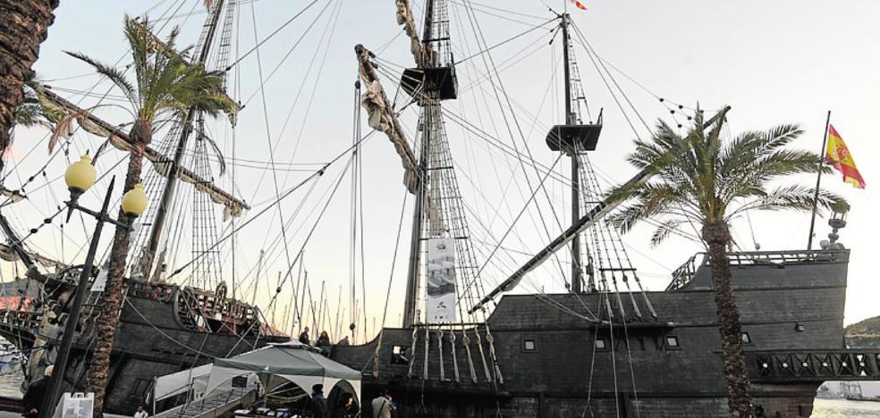 Un museo flotante del siglo XVII