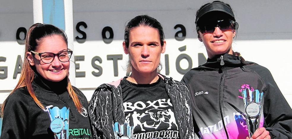 Mari Carmen Romero y Juan José Guerrero ganan en La Estación