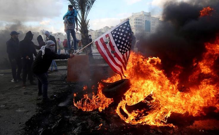 Trump 'enciende' los territorios palestinos