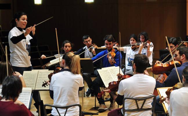 La Orquesta de Jóvenes de la Región de Murcia comienza su andadura
