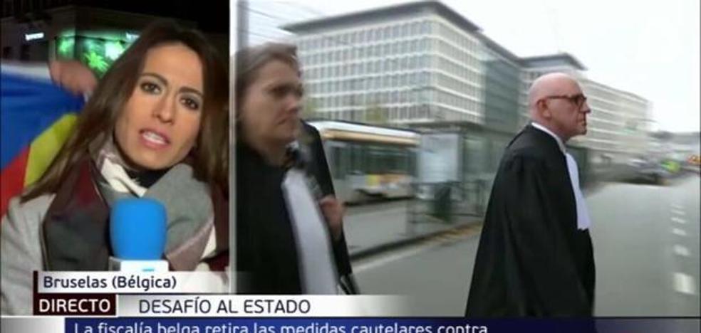 Sabotaje a una periodista de Telecinco en pleno directo