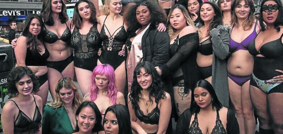 Ángeles terrenales dan la réplica a las de Victoria's Secret en Nueva York