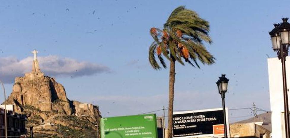 Activan la alerta amarilla por vientos de hasta 80 kilómetros por hora en la Región