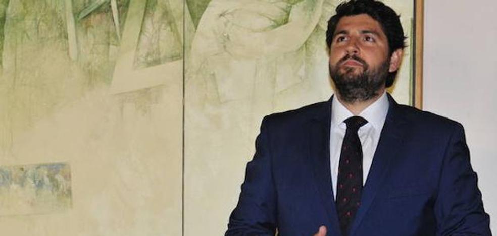 López Miras: «Tenemos un proyecto sólido, fuerte, de futuro y con ideas claras»