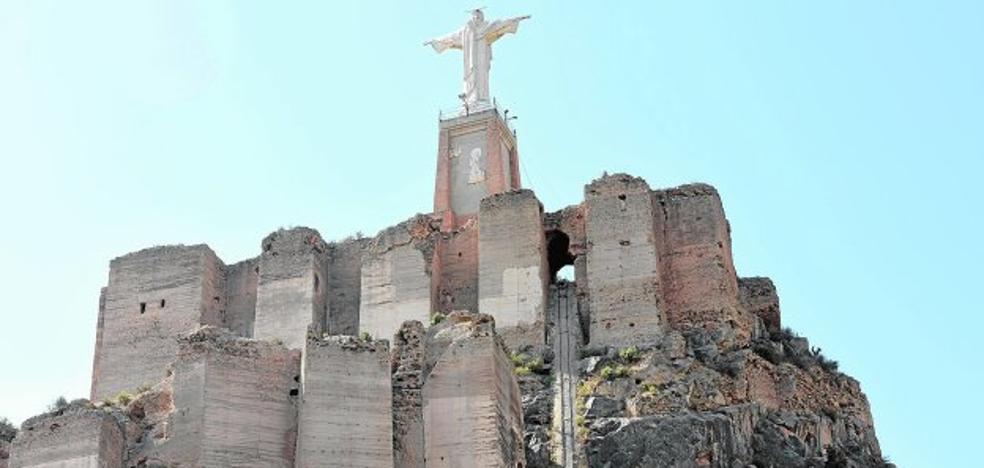Huermur denuncia ante el Defensor del Pueblo el estado del castillo de Monteagudo