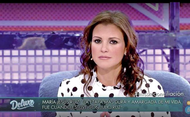 María Jesús Ruiz: «Mentí en el 'Deluxe' para proteger a Gil Silgado»
