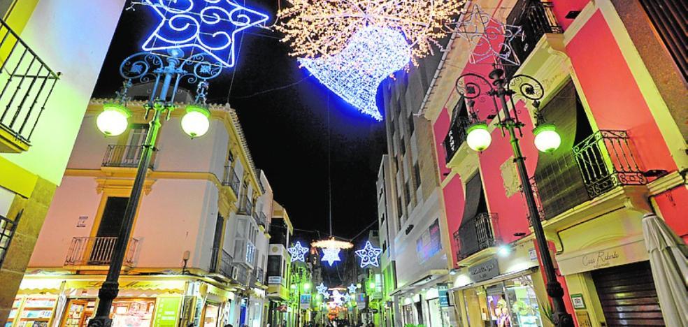 El refuerzo de la iluminación navideña estará concluido en los próximos días