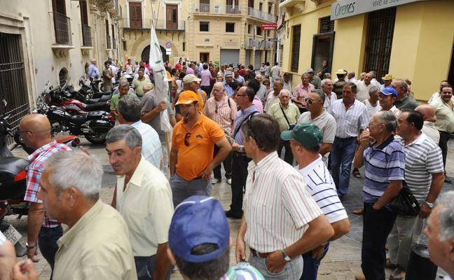 Estas son las calles de Murcia que cortarán los regantes en la manifestación de este miércoles