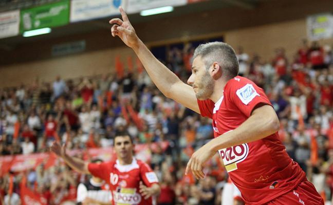 ElPozo, en plena escalada, cierra la primera vuelta hoy contra el Segovia