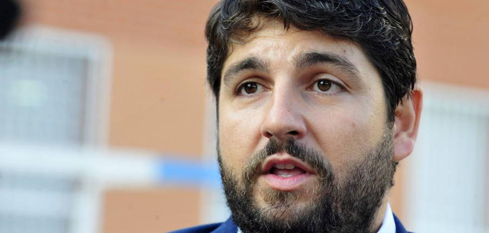López Miras: «Mi gente son los agricultores y los regantes»
