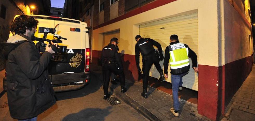 Otra redada en un club de cannabis de Murcia se salda con 12 detenidos