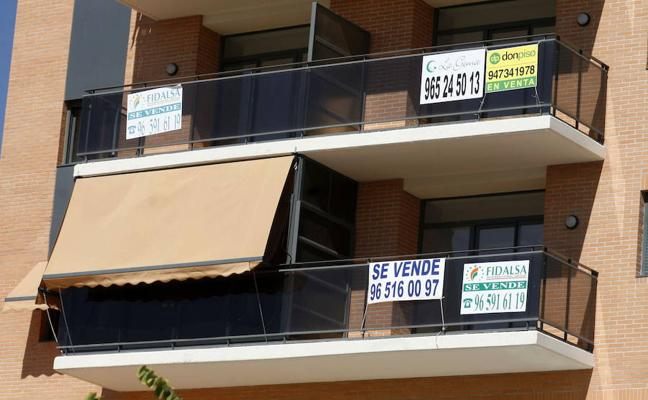 La compraventa de viviendas se dispara un 25,6% en Murcia en el tercer trimestre