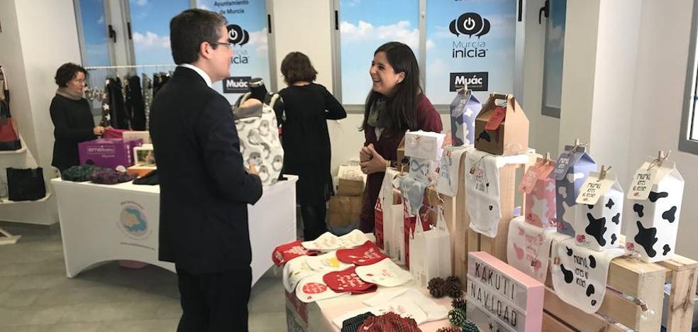 Murcia estrena un escaparate de productos de emprendedores del municipio