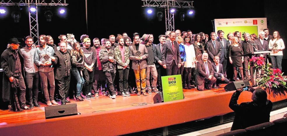 Viva Suecia, Piñana y Noise Box, primeros Premios de la Música