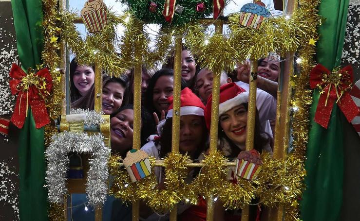 La cárcel con más espíritu navideño
