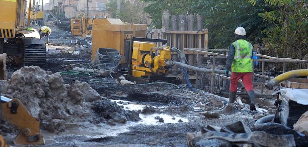 La Plataforma Pro Soterramiento condena el ataque a las obras del AVE