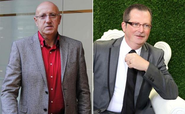 Alfonso López y Antonio Pellicer. /LV