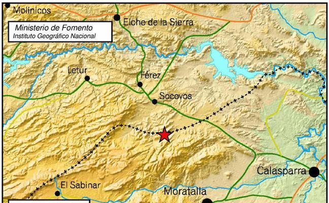 Dos terremotos de 1,8 grados de magnitud sacuden Calasparra y Moratalla