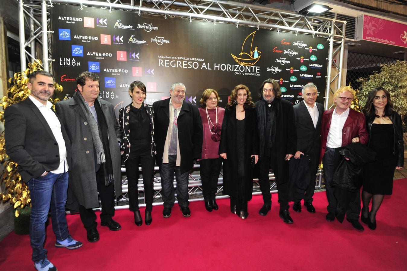 Preestreno en Murcia de la última película de Juan Manuel Chumilla-Carbajosa