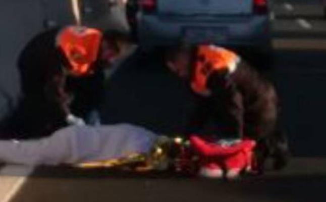 Atropellan a una persona en la bajada del Puerto de la Cadena
