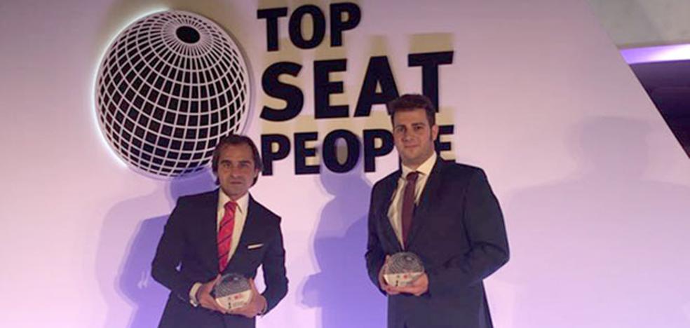 Los mejores de la red Seat, en Ginés Huertas Cervantes
