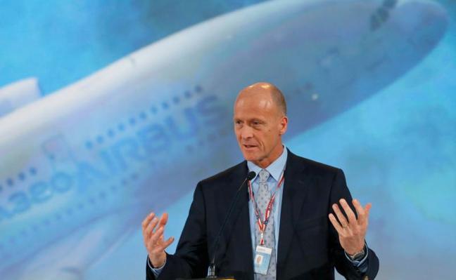 Tom Enders abandonará Airbus en 2019
