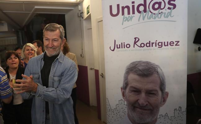 El exJemad Julio Rodríguez, nuevo secretario general de Podemos en la ciudad de Madrid