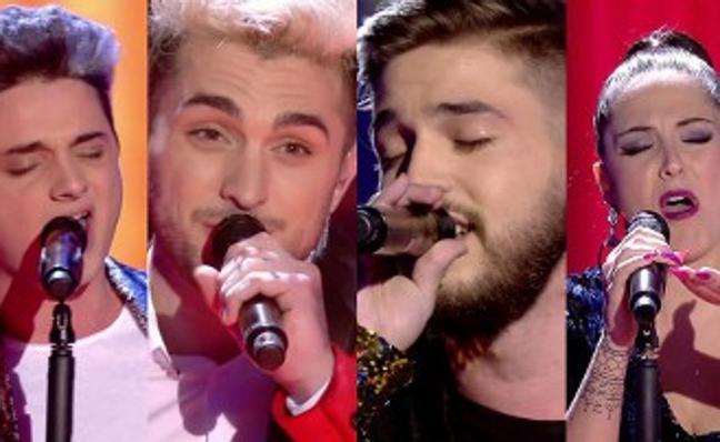 'La Voz' se alza en su semifinal