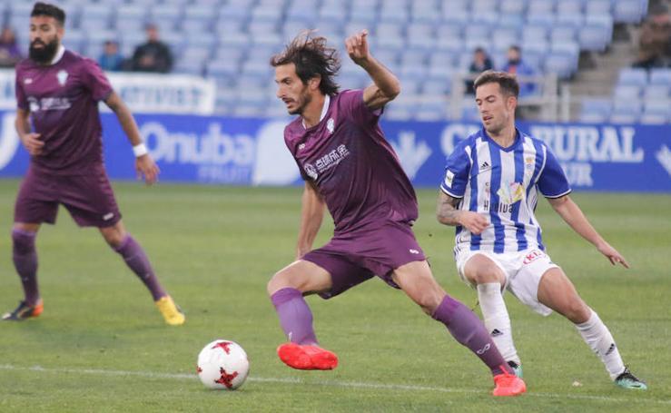Zarpazo de Chaco en el minuto 96 para darle la victoria al Jumilla en Huelva (1-2)