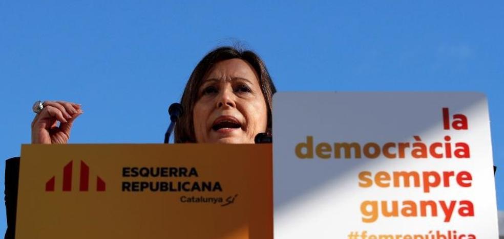 Forcadell: «Santamaría confirma con sus palabras que hay presos políticos»