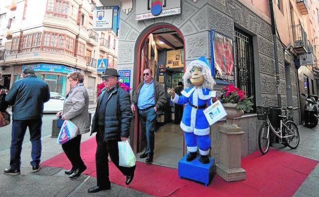 Las ventas de décimos del sorteo de Navidad suben un 8% respecto al pasado año