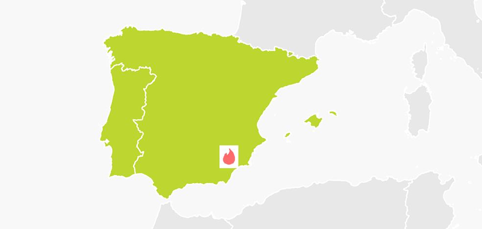 Murcia, en el top de ciudades españolas donde más se liga en Tinder