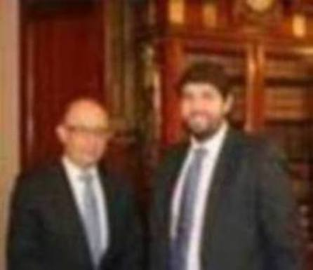 López Miras comparte con Montoro que la financiación debe reformarse por «consenso»