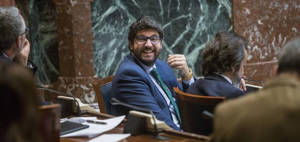 López Miras: «Los presupuestos dan estabilidad y confianza para avanzar juntos hacia una Región mejor»