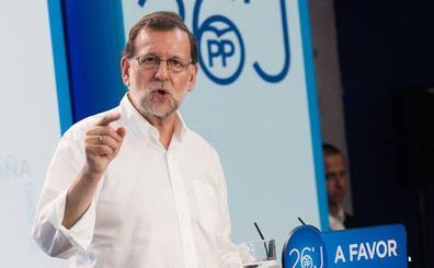 Rajoy confirma su visita a Murcia para bendecir el contrato de la puesta en marcha de Corvera