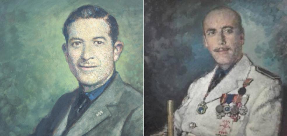 PP y Cs aprueban recuperar cuadros de dos alcaldes franquistas en el Consistorio