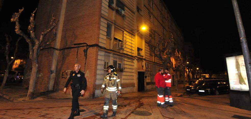 Alarma por un incendio en un bloque de La Paz
