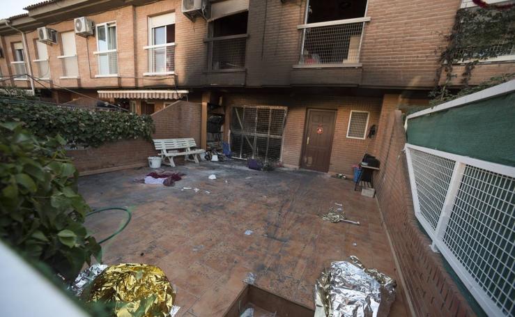 Herida grave una mujer de 84 años en el incendio de su vivienda en Aljucer