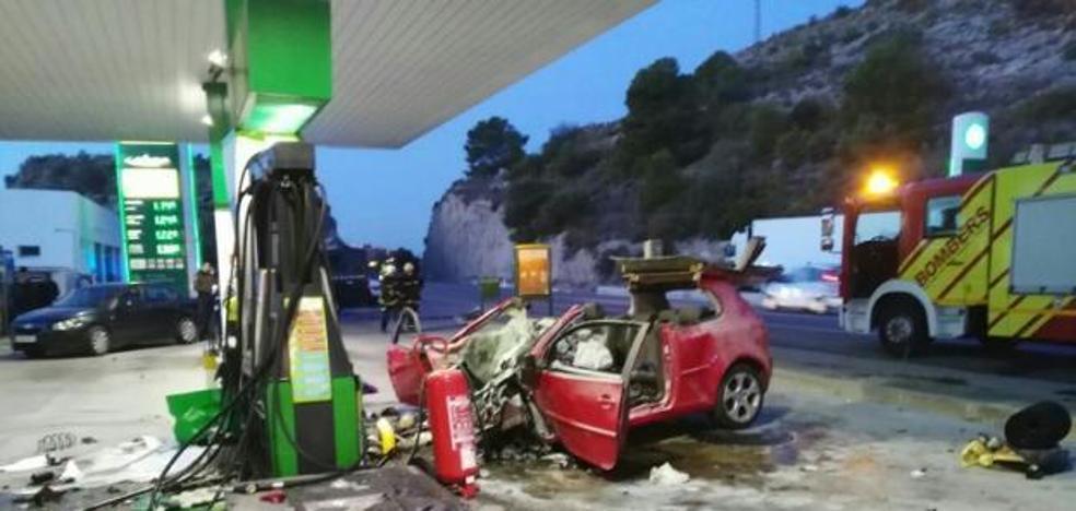 La joven muerta en Benicàssim fue introducida «a la fuerza» en el coche accidentado